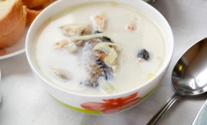 Латвийский молочный суп с рыбой - фото шаг 6