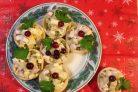 Тарталетки с начинкой из курицы с ананасом