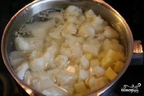 Суп-пюре из цветной капусты - фото шаг 2