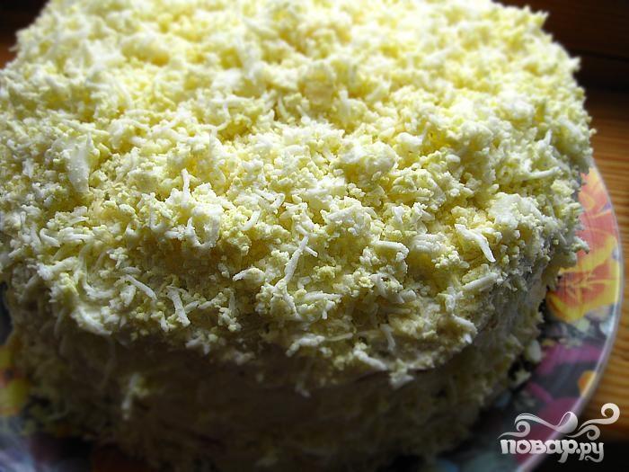 Блинный закусочный торт рецепт фото