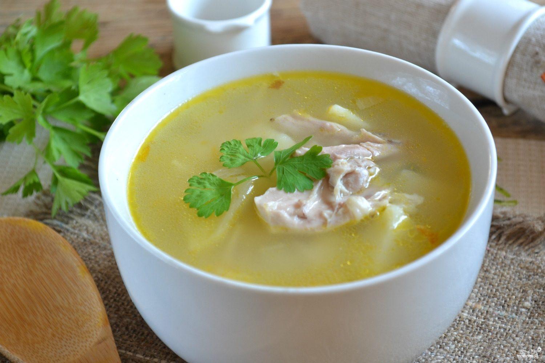 быстрый куриный суп с вермишелью рецепт