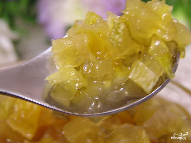 Рецепт Варенье из кабачков в аэрогриле