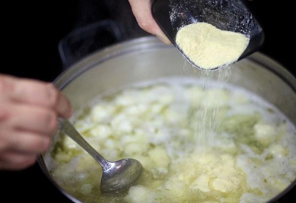 Суп из цветной капусты с курицей - фото шаг 5