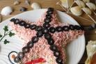 Салат Морская звезда с крабовыми палочками