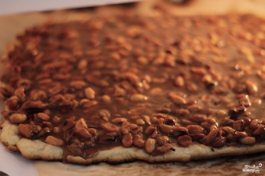 Карамельное печенье с арахисом - фото шаг 6