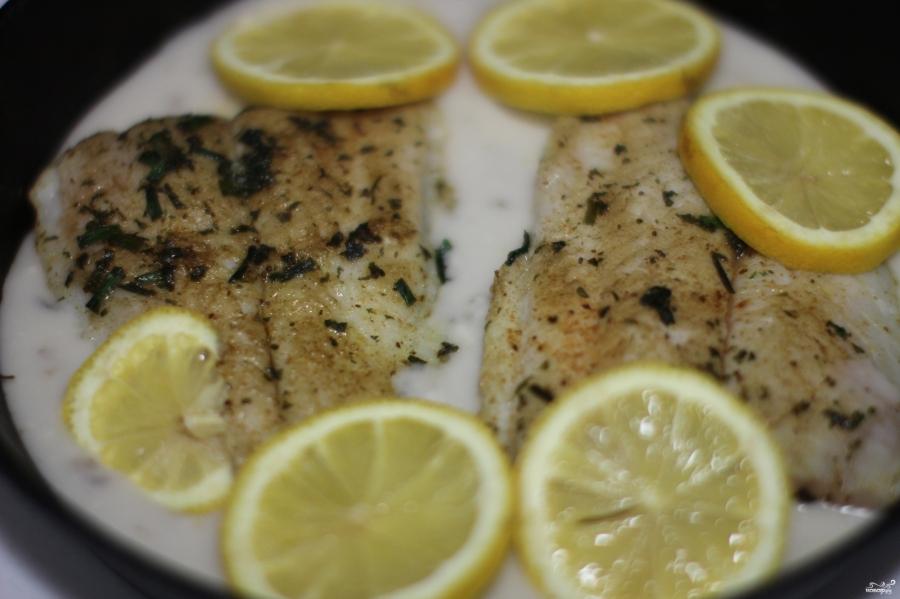 рыба в соусе в духовке пошаговый фото рецепт