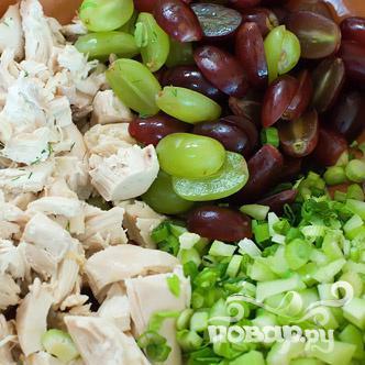 Куриный салат - фото шаг 5