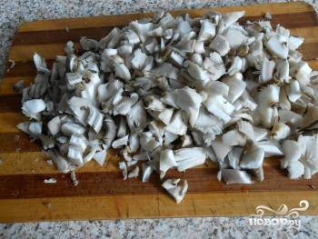 Рецепт Салат с грибами вешенками