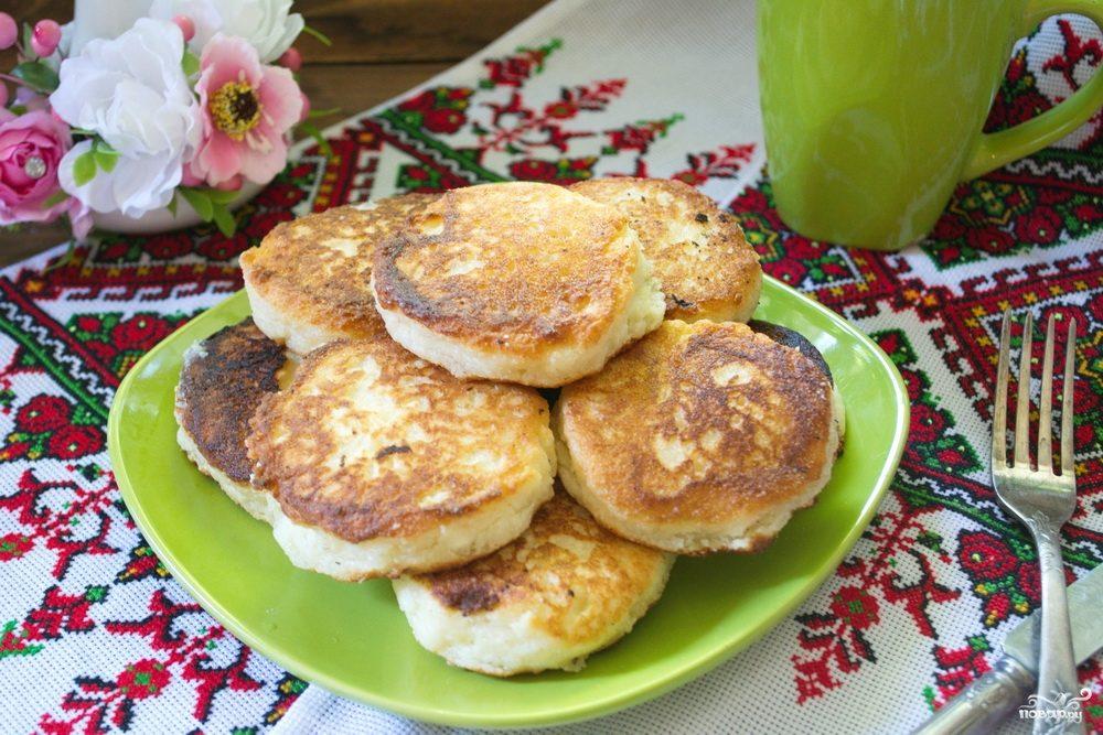 Сырники с манкой рецепт с фото