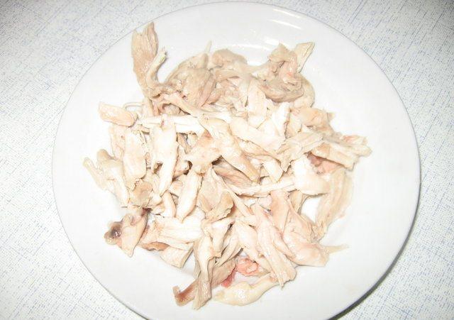 Рецепт Куриный суп с зеленым горошком