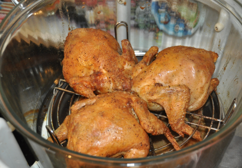 Курица в аэрогриле - фото шаг 5