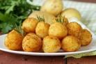 Картофельные крокеты постные