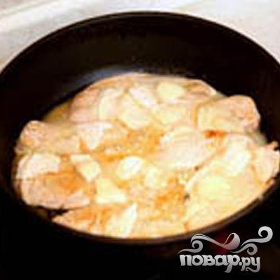 Курица в соусе Сен-Марселлен - фото шаг 2