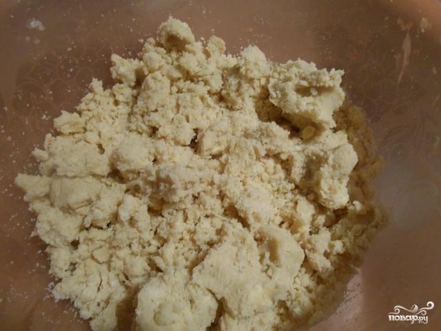 Песочное печенье с глазурью - фото шаг 1