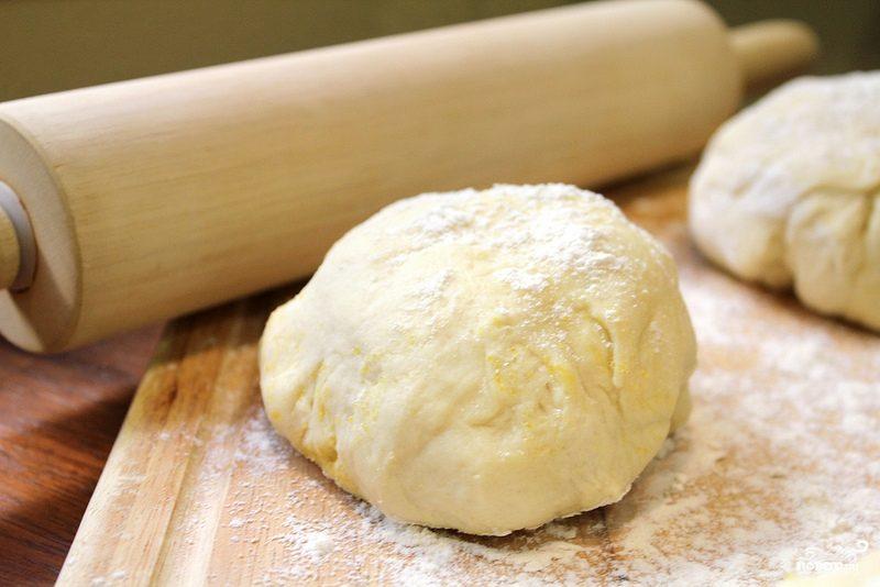 Тесто на сыворотке для пирожков