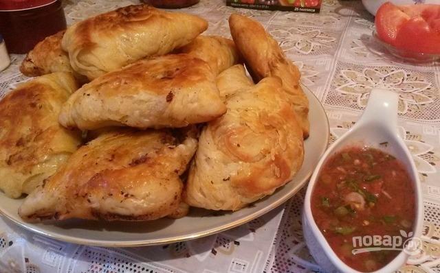 Самса настоящая узбекская - фото шаг 11