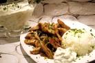 Свинина по-гречески