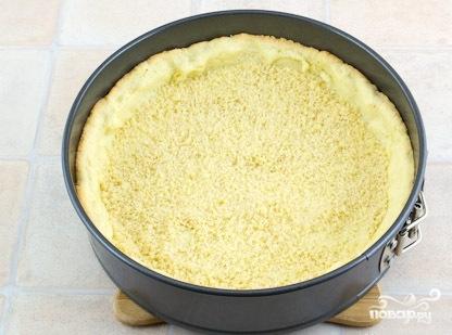 Песочный пирог с ягодной начинкой - фото шаг 5