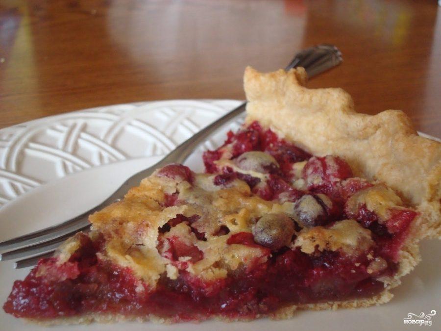 Рецепт Английский клюквенный пирог