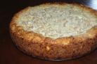 Пирог с грушевой начинкой