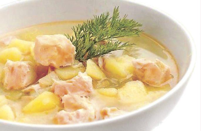 как сварить суп из головы семги рецепт с фото