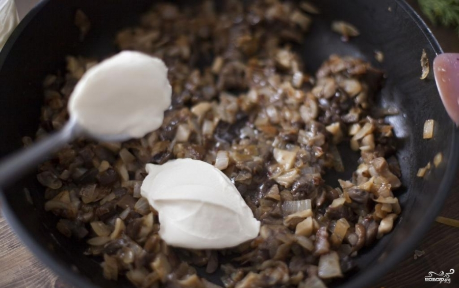 как приготовить грибную икру из замороженных грибов