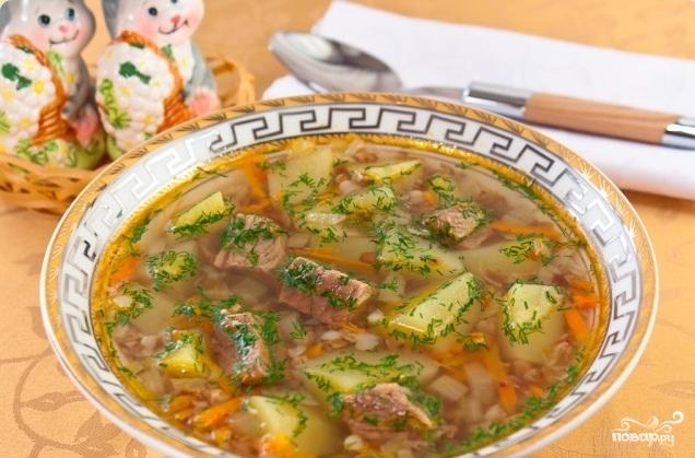 Суп гречневый с курицей - фото шаг 12