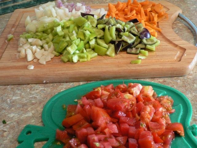 Телятина с овощами - фото шаг 2