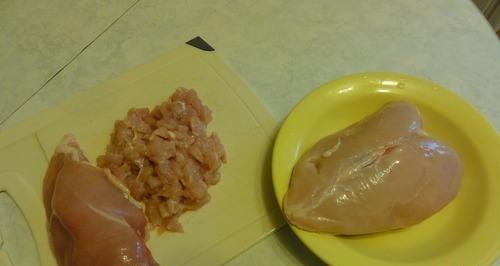 Рецепт Куриные котлеты из рубленого мяса