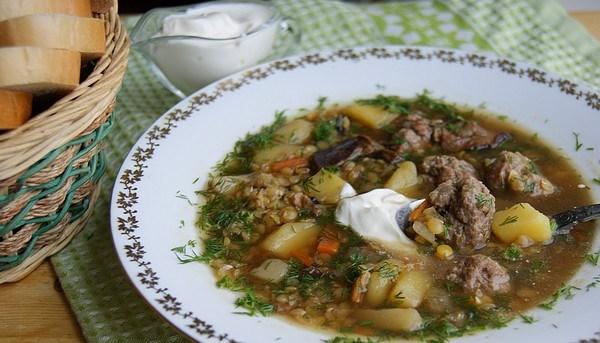 Густой грибной суп - фото шаг 8