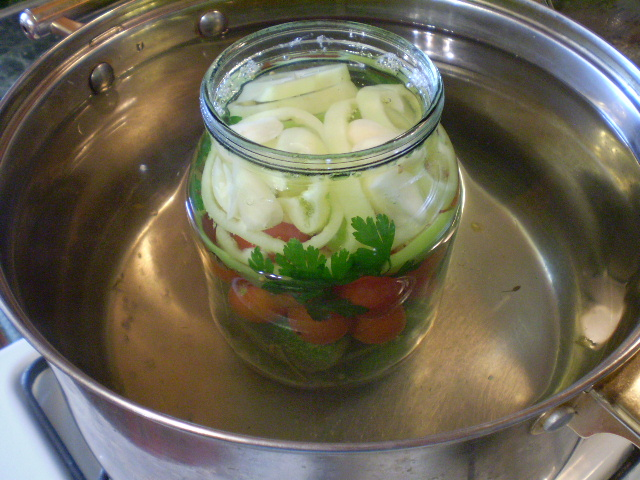 Закатка овощей на зиму - фото шаг 5