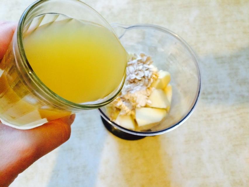 Смузи из фруктов - фото шаг 7