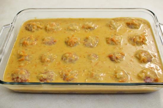 Ежики в сливочном соусе - фото шаг 9