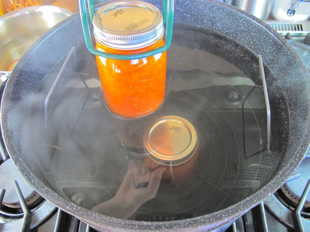 Варенье из персиков с сахаром - фото шаг 5
