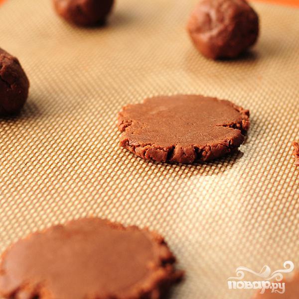 Печенье из крема Nutella - фото шаг 7