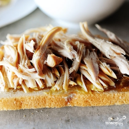 Швейцарский бутерброд с индейкой - фото шаг 2