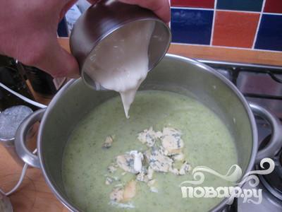Суп брокколи и Стилтон - фото шаг 10