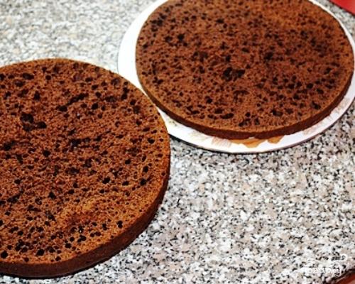 Домашний торт с вишней - фото шаг 6