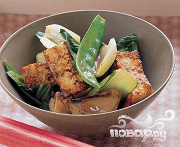 Жаркое с тофу