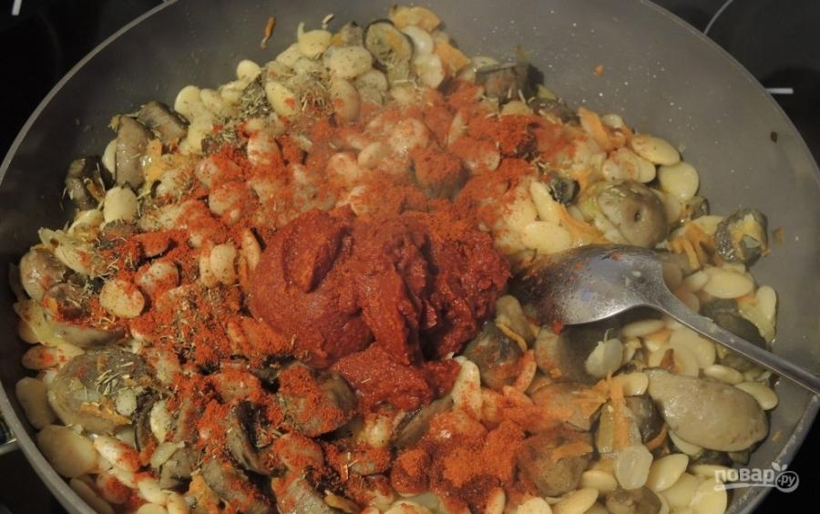 суп с стручковой фасолью и капустой рецепт с фото