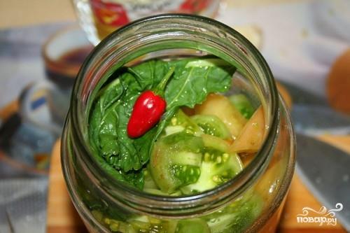 Рецепт Зеленые помидоры без закатки