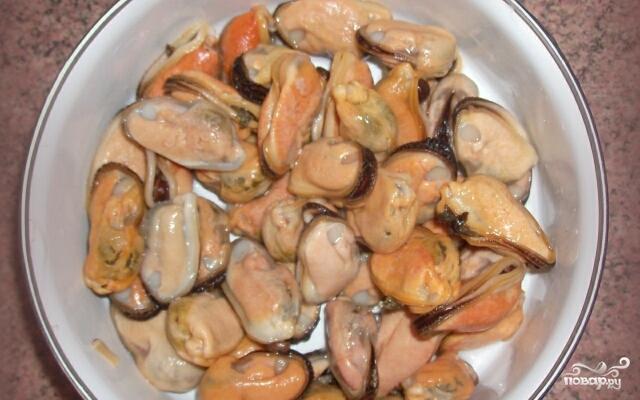 Блюда из мидий 25 рецептов с фото. Как приготовить мидий 34