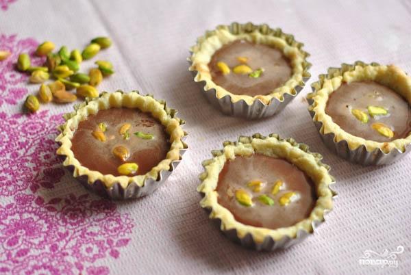 Тарталетки с шоколадом - фото шаг 7