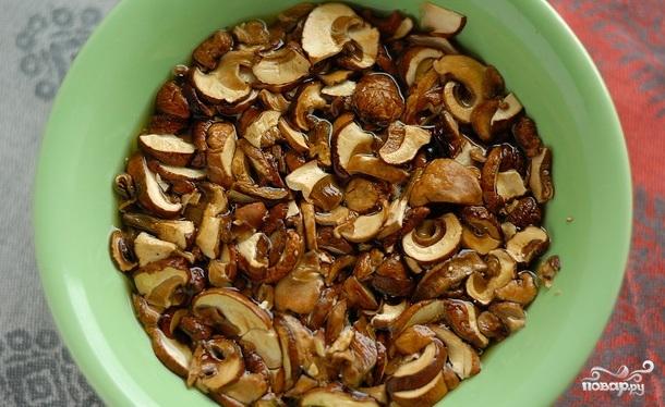 Рецепт Грибной суп для похудения