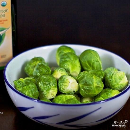 Рецепт Гарнир из брюссельской капусты