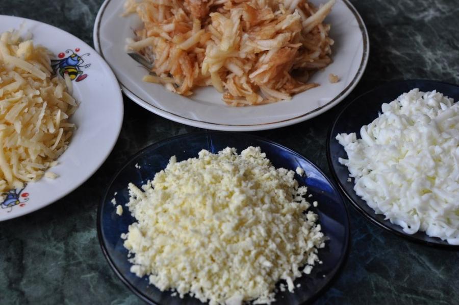 Куриный салат с грецкими орехами - фото шаг 2