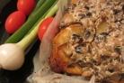 Картофель с грибами и мясом