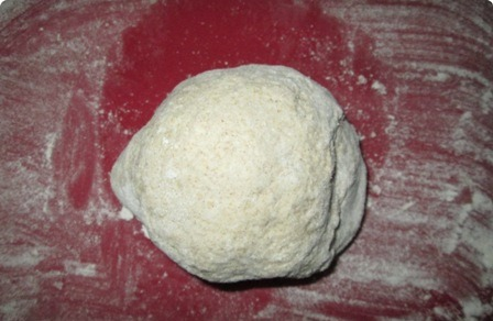 Кыстыбый с сыром - фото шаг 3