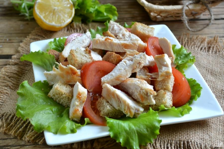 Салат из филе индейки рецепт