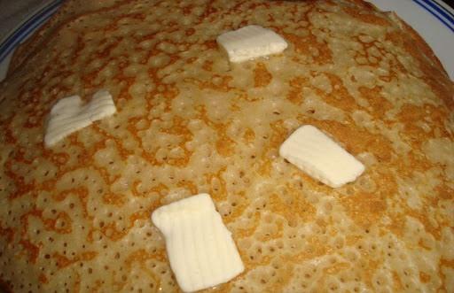 Блины ажурные на молоке с кипятком рецепт с фото